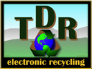 TDR electronic recycling Logo