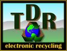 TDR electronic recycling Logo